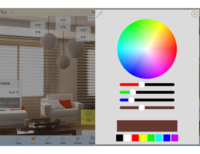 ComfortClick RGB Mixer